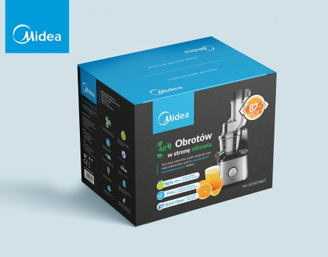 Midea美的榨汁机海外版包装设计