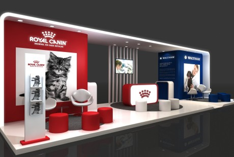 Royal Canin/皇家宠物粮展厅展台设计