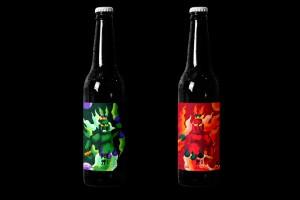 Â-ĒN工艺啤酒包装视觉识别设计