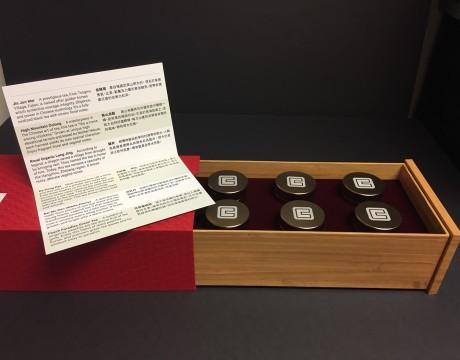 国泰银行小罐茶包装设计,WHD茶叶礼品套装