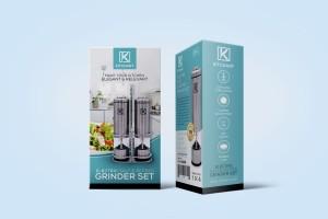 KITCHANT 研磨机套件包装设计