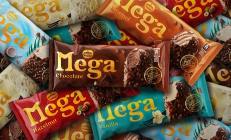 Nestle雀巢冰淇淋品牌包装设计视觉识别设计