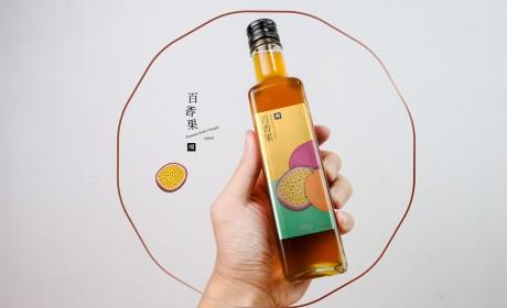 淡果香 From Nature 果醋包裝设计