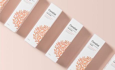 韩国Coralist护肤品包装设计