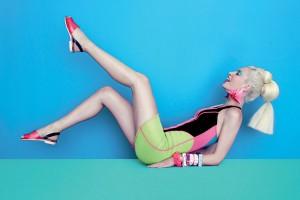 Melissa鞋子时尚编辑广告宣传册设计