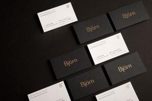 Björn - 豪华五金和浴室装置品牌视觉识别