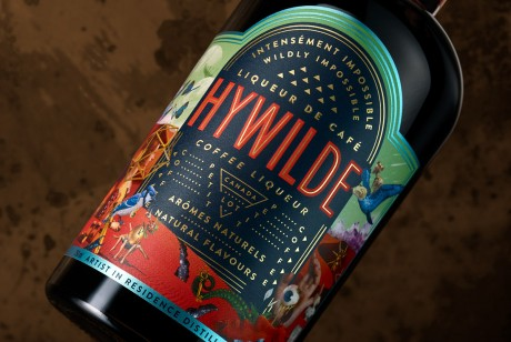 HYWILDE咖啡利口酒包装设计