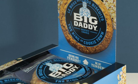 BIG DADDY品牌定位和食品包装设计-结合风味和营养,更好地获得市场份额