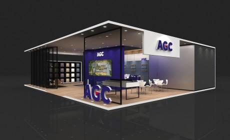 AGC的商务化展览展示