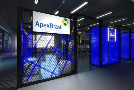 ApexBrasil展位设计
