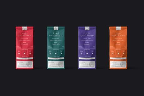 Kopi Pahlawan 咖啡包装设计