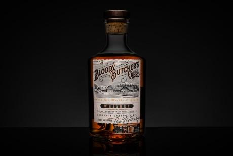 Bloody Butcher Creed 威士忌酒包装设计
