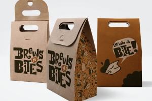 Brews N'Bites咖啡馆包装设计及品牌重塑