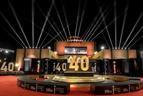 开罗国际电影节这个设计金灿灿的