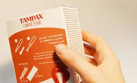 重新设计TAMPAX卫生棉条包装,包装升级学生作业