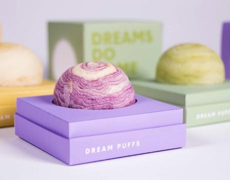 Dream Puffs列芋头糕点品牌和系列包装设计