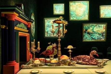 爱马仕专卖店的开业宴会难道是宫廷宴席吗?