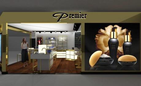 Premier Cosmetics的零售店设计好高贵啊