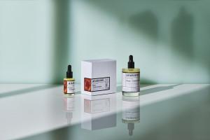 Anatomē健康商店品牌标识设计和精油产品包装设计