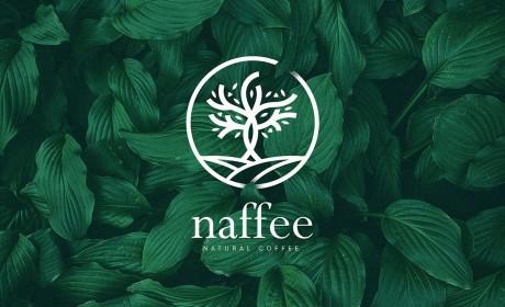 naffee天然咖啡品牌识别和包装设计