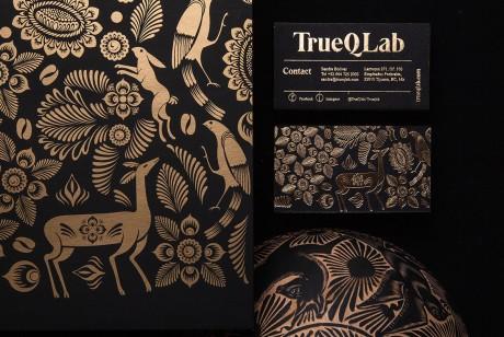 Trueque咖啡品牌形象设计和超细腻烫金工艺包装设计