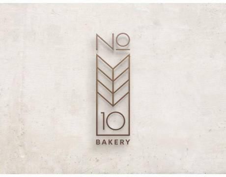 NO 10 BAKERY欧洲面包店食品品牌识别视觉设计