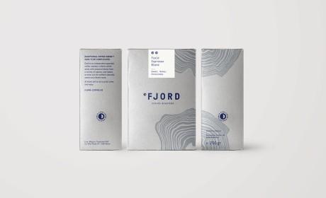 Fjord咖啡烘焙品牌重塑和包装升级设计