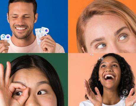 一个清晰的品牌变革愿景,Dimple隐形眼镜品牌战略视觉识别整合设计