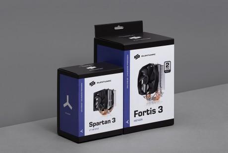 波兰电脑配件品牌SilentiumPC品牌视觉形象及包装设计