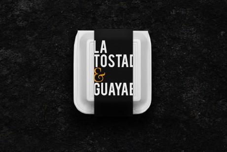 TOSTADA & GUAYABA餐饮食品品牌识别VI设计让吃饭变成一种艺术