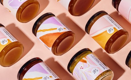 Bee One Third 食用蜂花粉、蜂巢蜜、蜂蜜包装设计