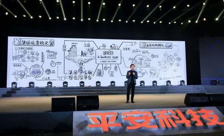 探索不止 智造未来:2019年平安科技深圳年会科技感很浓哦