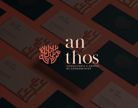 为什么品牌vi设计公司的收费不同?Anthos公寓管理品牌设计