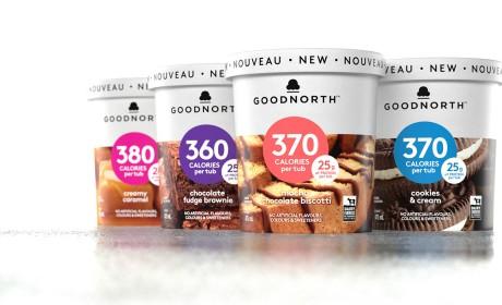 Goodnorth冰淇淋包装设计