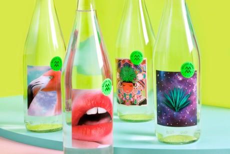 Mezcal Verde梅斯卡尔酒龙舌兰酒包装设计