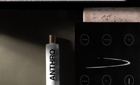 Anthro美容中心品牌视觉识别设计