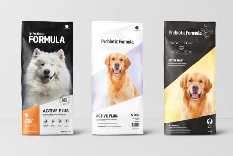 宠物食品狗粮系列包装设计方案