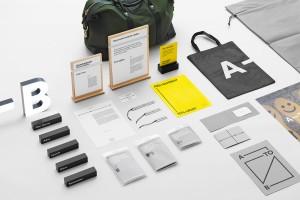 Venue Retail集团简约商务又不失时尚的品牌识别设计