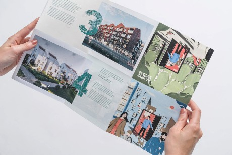 Paupys品牌logo设计及触感与质感并存的插画风格画册设计