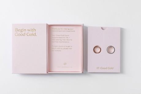 戒指包装设计的创意,爱情不应被商业化包围体从这书型盒里体会相濡以沫
