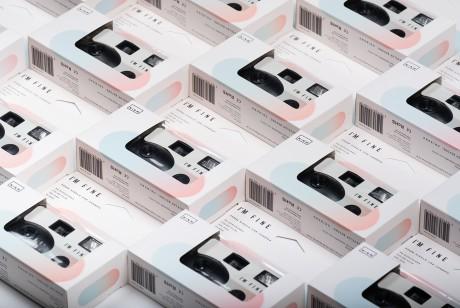 一次性胶片相机包装设计拥有美观和整洁的外观