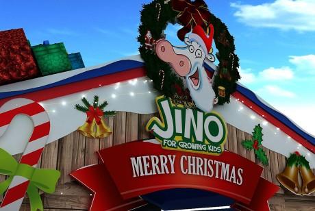 圣诞节快闪店策划的主角瞬间更换成圣诞牛了,有意思!