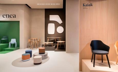 走进去就想把整个设计风格和家具都搬回家的展位设计你见过吗?