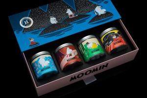 糖果包装设计限量版概念创意设计-Moomin x Haupt Lakrits