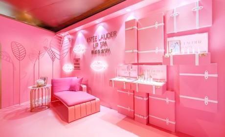 视觉与味觉上的粉色盛宴快闪店策划吸引了各大时尚达人前来打卡拍照
