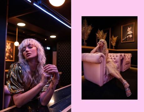 猫主题酒吧视觉VI设计充满趣味、色彩、以及性信息素元素,让人难以忘怀的设计