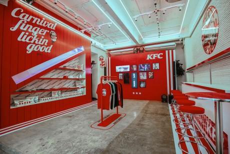 肯德基华丽丽的快闪店策划竟然是联手泰国的知名潮流店铺Carnival