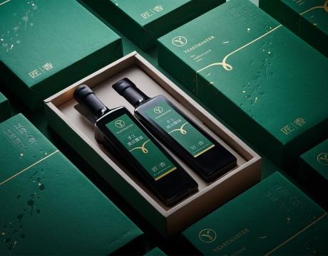 以诗入瓮,以艺酿豆「匠香」手工酱油品牌包装设计