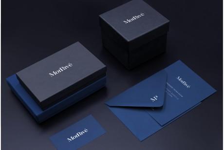 女性珠宝品牌VI设计如此优秀的彰显新贵,来自纽约的MonPavé珠宝