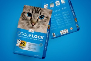 OdourLock 猫砂包装设计
